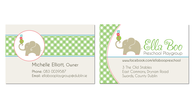 Ella Boo Business Card