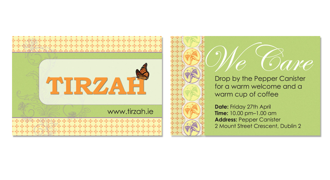 Tirzah Business Card