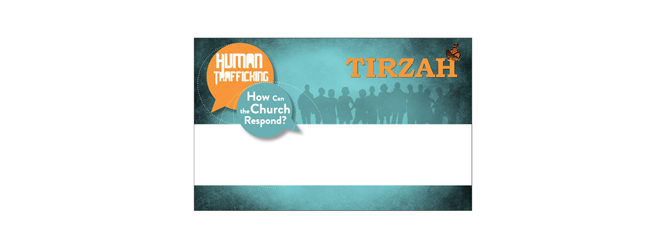 Tirzah Conference Namebadge Template